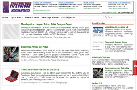 download template blog seo friendly 2012 indonesian