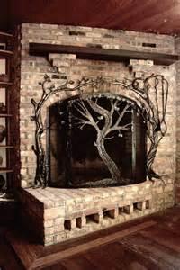 custom fireplace screen made fireplace screens by earth eagle forge llc