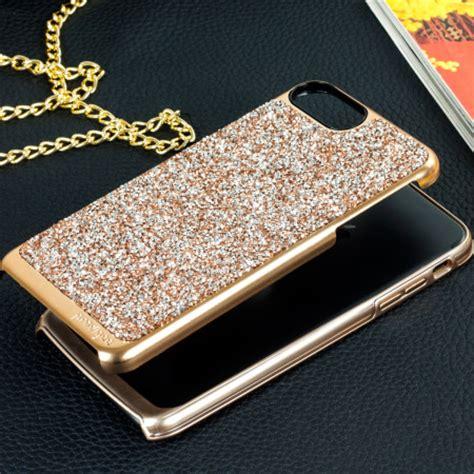 prodigee fancee iphone   glitter case rose gold