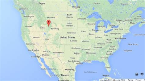grand map in us grand teton national park in usa world easy guides