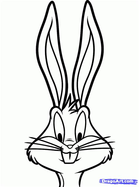 how to draw bugs bunny step by step easy how to draw bugs bunny easy step by step cartoon network