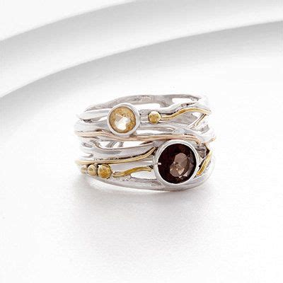 Handmade Silver And Gold Rings - the world s catalog of ideas