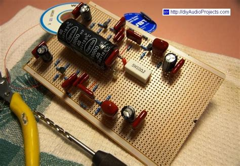 diy pio capacitor diy audio projects hi fi for diy audiophiles boozhound labs jfet riaa phono pre kit