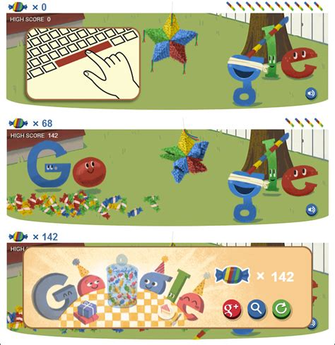 doodle gameplay doodle celebrates 15th birthday