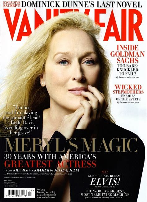 Vanity Magazine by Meryl Streep In Vanity Fair Magazine January 2010 Meryl Streep Photo 11332576 Fanpop