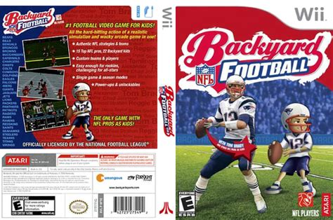 backyard sports wii rfte70 backyard football