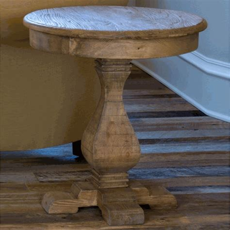 Tables Park Hill by Park Hill Collection Pedestal Side Table Sdf3141