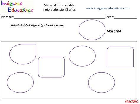 imagenes educativas material fotocopiable 5 años actividades para mejorar la atenci 243 n 3 a 241 os p 225 gina 09