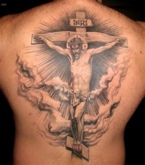 religious back tattoos back christian christian designs idea