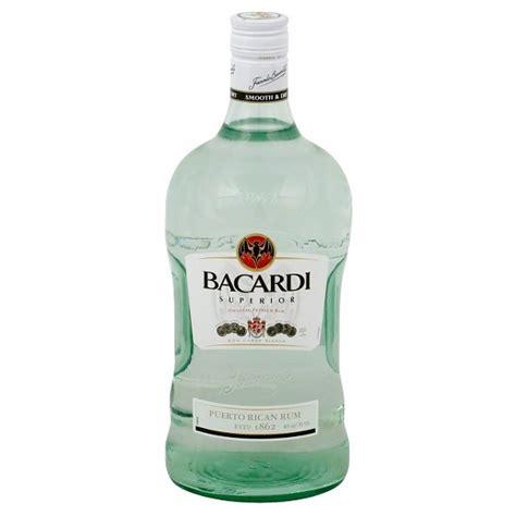 bacardi 174 superior light rum 1 75l bottle