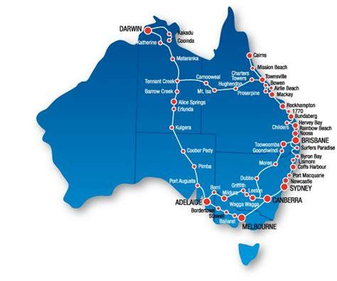 map of eastern australia australian east coast map reisen east