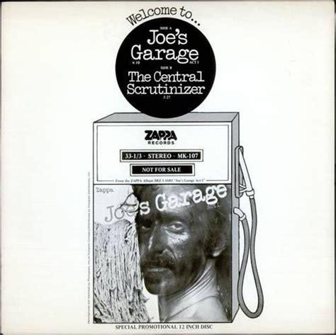 Joe S Garage Frank Zappa by Joes Garage Ad The Aficionado