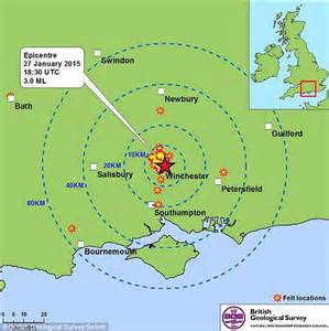 earthquake last night winchester hshire hit by 2 9 magnitude earthquake that