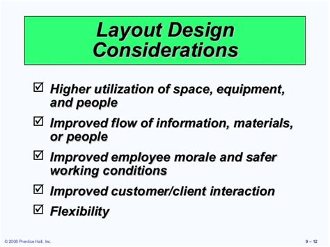 layout strategy chapter 9 chapter 9 layout strategies