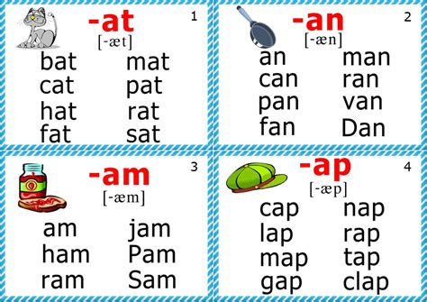 printable flash cards reading phonics cards short a sound