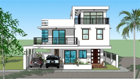 housedesigner com house plan designs 3 storey w roofdeck bedroom designs