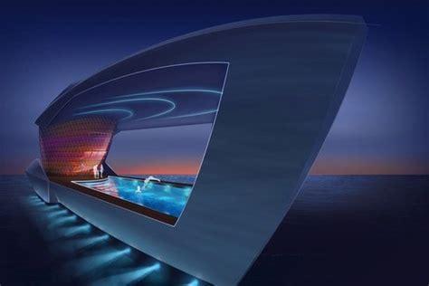Salle De Sport Futuriste by Le Cf8 Un Superyacht Diff 233 Rent Avec Showroom De Voitures