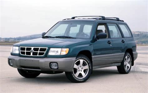 2000 Subaru Forester Information And Photos Zombiedrive