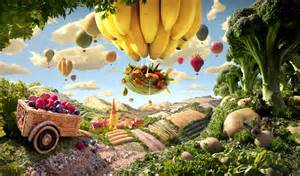 Landscape Photos Made From Food Carl Warner Foodscape Photographer Is The Willy Wonka