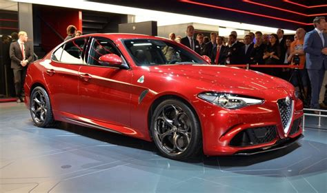 alfa giulia quadrifoglio presented to the international