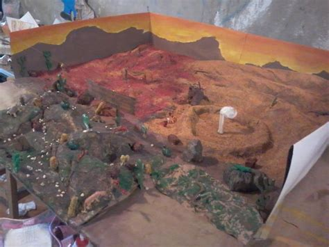 imagenes de maquetas escolares maqueta del pinacate y desierto de altar sonora