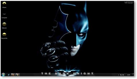 vikitech themes for windows 8 1 free download windows 7 themes the dark knight wallpapers theme for