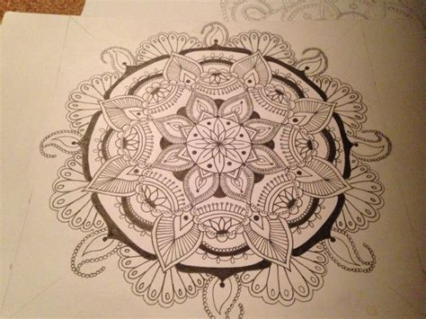 mandala 2 watercolor and pen tattoo style speed drawing 17 best images about art to do on pinterest watercolors