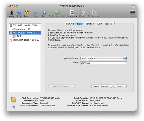 format hard disk using mac format a hard drive using mac os x disk utility iclarified