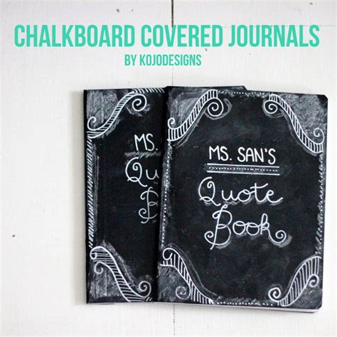 chalkboard diy gifts how to make a chalkboard covered journal diy gift
