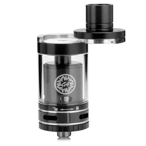 Rta Mage 24 Authentic Black authentic smok tf rta g4 black 4 5ml 24 5mm rebuildable tank atomizer
