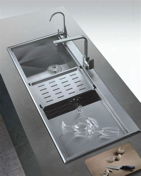 Kitchen Big Sink Large Kitchen Sinks Stainless Steel Bowl Sink With