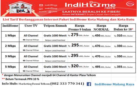 Paket Wifi Indihome indihome kota malang update promo indihome kota malang