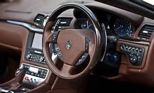 maserati steering wheel driving martin the maserati grancabrio is truly the sexiest