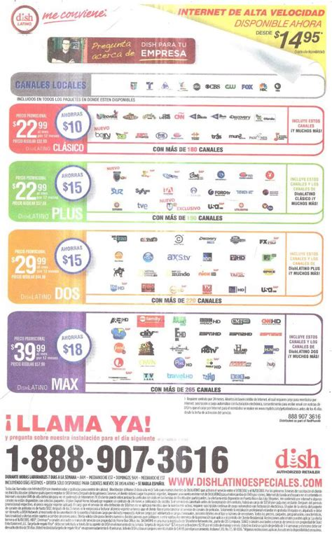 printable version of dish network channels dish network and dish latino advertisment for dec 2012