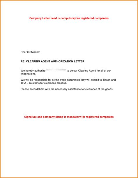 authorization letter with reason authorize letter authorization letter pdf