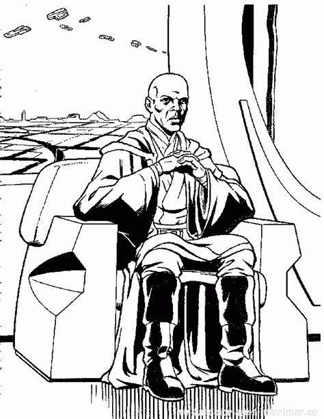coloring pages count dooku wars 268 coloriages 224 imprimer