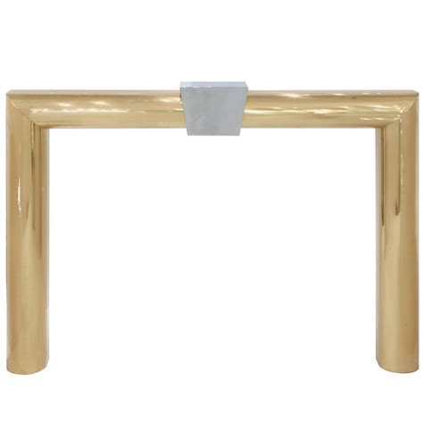 Brass Surround For Fireplace by Fireplace Surround In Solid Brass And Chrome By Danny