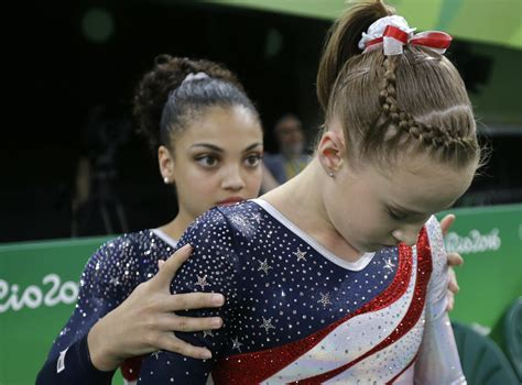 short hair gymnastics style photos the final five s golden night the undefeated
