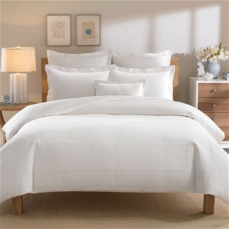 simple bedding buy real simple 174 linear duvet cover from bed bath beyond