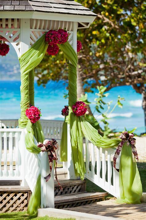 memorable wedding gazebo wedding decorations
