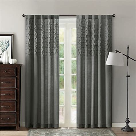 84 inch curtain panels aria 42 inch x 84 inch window curtain panel bed bath