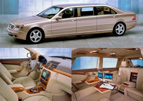 2015 S Class Interior by Mercedes Pullman 2015