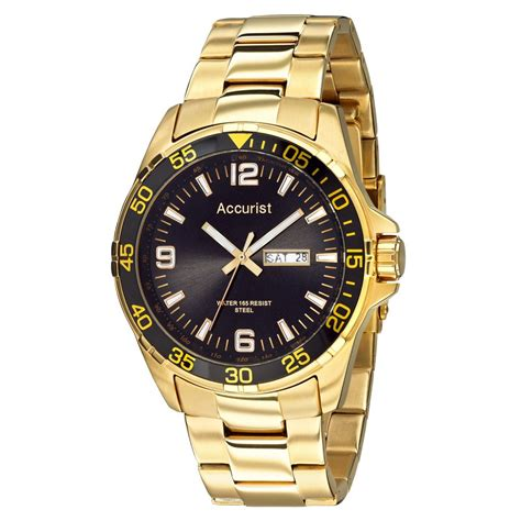 accurist mens gold tone mb1004b accurist watches