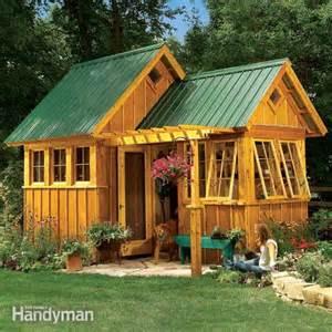 Garden Shed Plans Family Handyman Garden Shed Plans Haddi