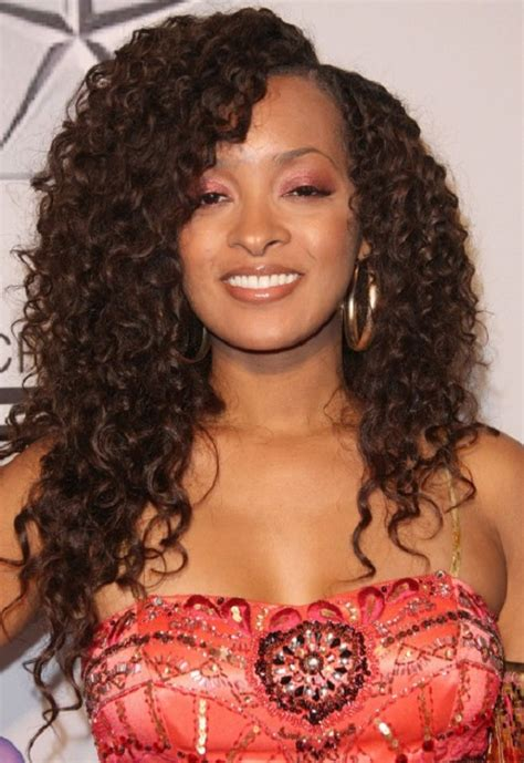 wet and wavy hair styles for black women curly wavy hairstyles for black women 001 life n fashion