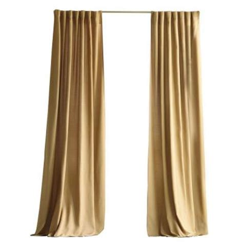 Home Decorators Collection Khaki Outdoor Back Tab Curtain