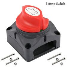 disconnect boat battery before charging battery disconnect switch ebay