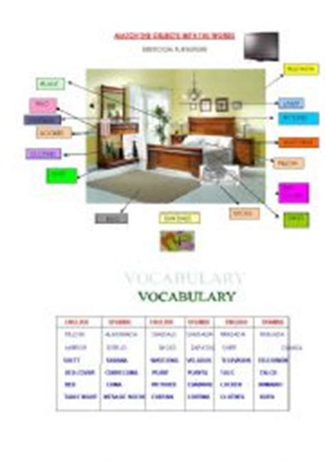 bedroom furniture vocabulary bedroom furniture names in memsaheb net