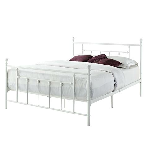 white iron bed frame white iron bed frame tags vintage king size bed