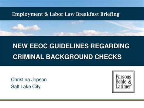 Justifacts Background Check New Eeoc Guidelines Regarding Criminal Background Checks
